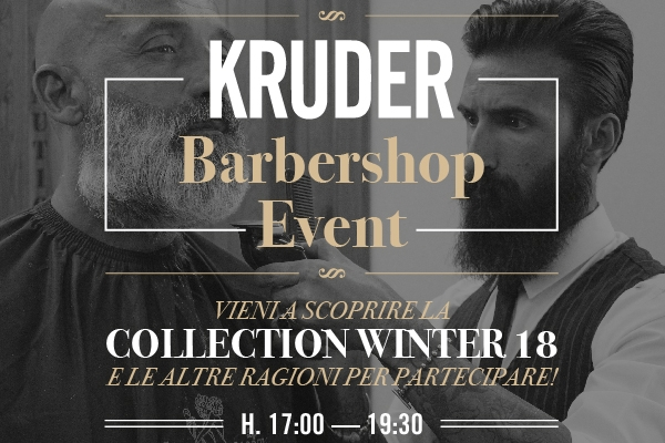 KRUDER #BarberShopEvent!