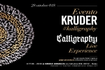 Evento Kruder #kalligraphy - Live Experience
